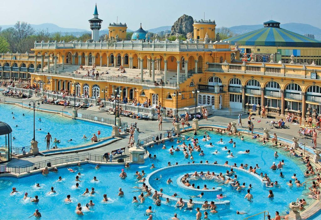 Szechenyi Baths Budapest Travel